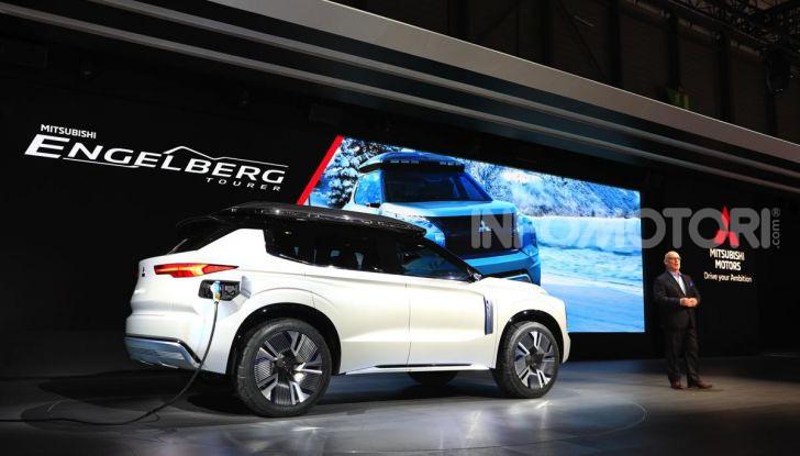 Mitsubishi Engelberg Tourer: SUV elettrico per il Salone di Ginevra 2019 - Foto 26 di 40