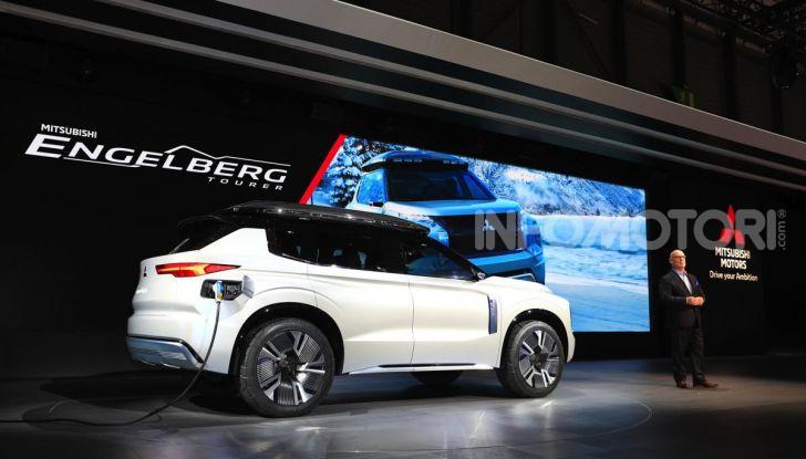 Mitsubishi Engelberg Tourer: SUV elettrico per il Salone di Ginevra 2019 - Foto 27 di 40