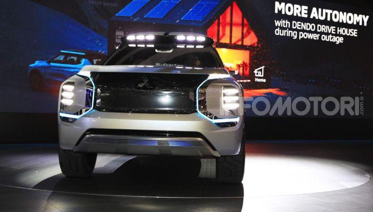 Mitsubishi Engelberg Tourer: SUV elettrico per il Salone di Ginevra 2019 - Foto 5 di 40