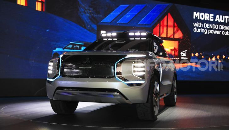 Mitsubishi Engelberg Tourer: SUV elettrico per il Salone di Ginevra 2019 - Foto 2 di 40