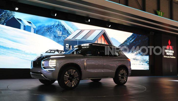 Mitsubishi Engelberg Tourer: SUV elettrico per il Salone di Ginevra 2019 - Foto 3 di 40