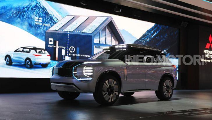 Mitsubishi Engelberg Tourer: SUV elettrico per il Salone di Ginevra 2019 - Foto 36 di 40
