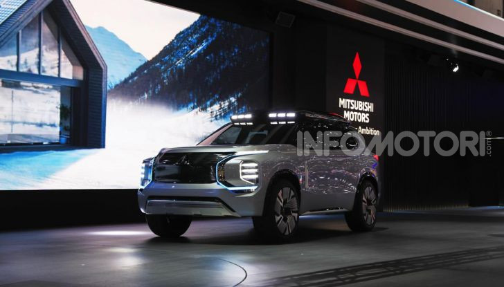 Mitsubishi Engelberg Tourer: SUV elettrico per il Salone di Ginevra 2019 - Foto 1 di 40