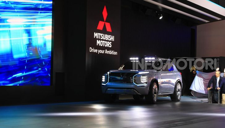 Mitsubishi Engelberg Tourer: SUV elettrico per il Salone di Ginevra 2019 - Foto 37 di 40