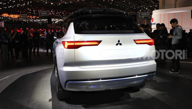 Mitsubishi Engelberg Tourer: SUV elettrico per il Salone di Ginevra 2019 - Foto 7 di 40
