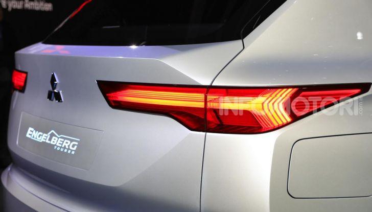 Mitsubishi Engelberg Tourer: SUV elettrico per il Salone di Ginevra 2019 - Foto 10 di 40
