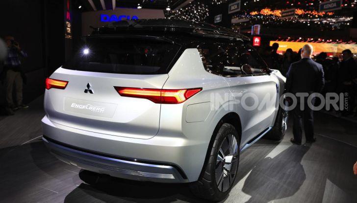 Mitsubishi Engelberg Tourer: SUV elettrico per il Salone di Ginevra 2019 - Foto 12 di 40