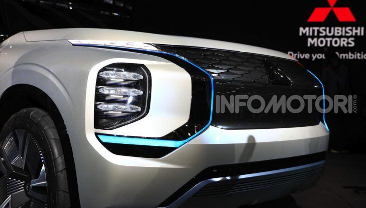 Mitsubishi Engelberg Tourer: SUV elettrico per il Salone di Ginevra 2019 - Foto 14 di 40