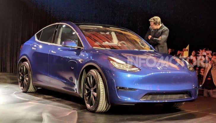 Tesla Model Y: nel 2020 arriva il SUV elettrico a prezzi popolari - Foto 2 di 33