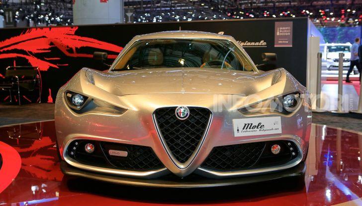 Alfa Romeo 4C Mole Costruzione Artigianale 001, la one-off di Up Design - Foto 2 di 10