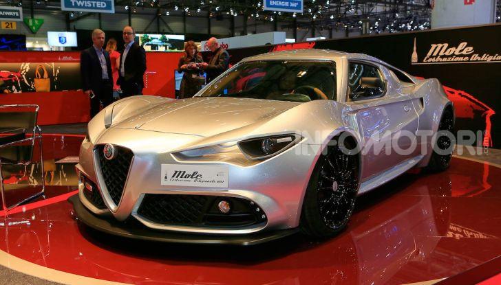 Alfa Romeo 4C Mole Costruzione Artigianale 001, la one-off di Up Design - Foto 1 di 10