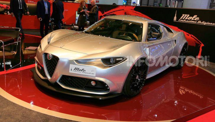 Alfa Romeo 4C Mole Costruzione Artigianale 001, la one-off di Up Design - Foto 4 di 10