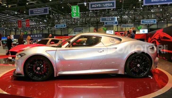 Alfa Romeo 4C Mole Costruzione Artigianale 001, la one-off di Up Design - Foto 5 di 10