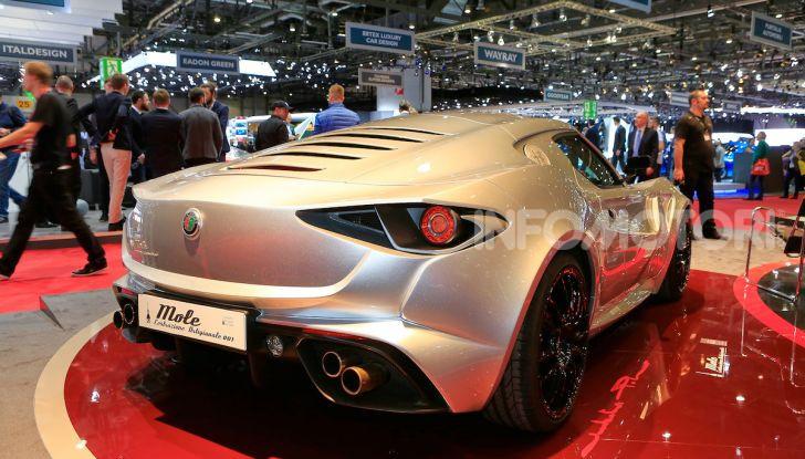 Alfa Romeo 4C Mole Costruzione Artigianale 001, la one-off di Up Design - Foto 3 di 10