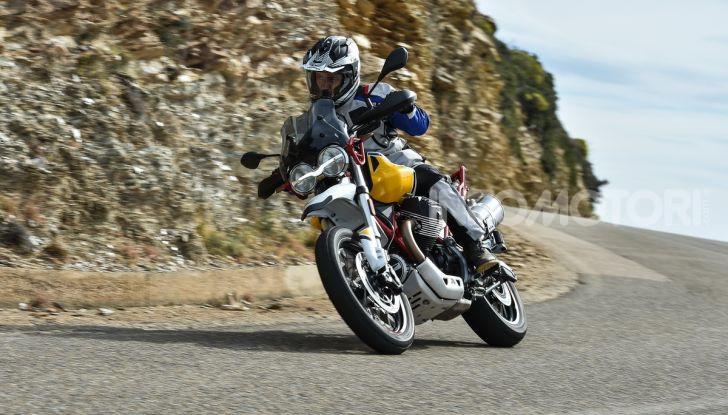 Prova su strada Moto Guzzi V85TT: caratteristiche, prezzo e opinioni - Foto 59 di 116