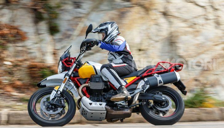 Prova su strada Moto Guzzi V85TT: caratteristiche, prezzo e opinioni - Foto 100 di 116