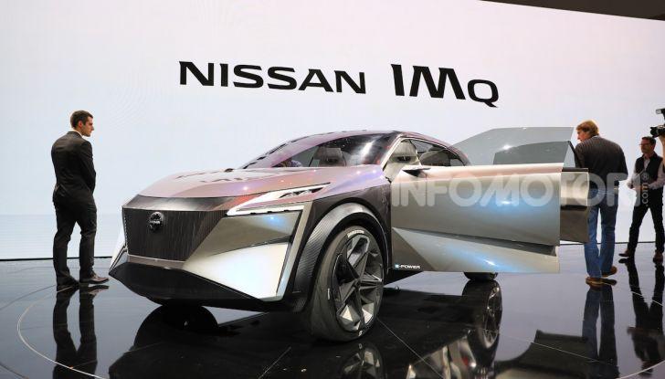 Nissan IMQ: l'auto del futuro 100% elettrica - Foto 2 di 22