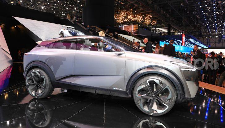 Nissan IMQ: l'auto del futuro 100% elettrica - Foto 1 di 22
