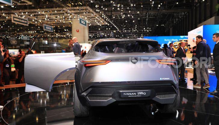 Nissan IMQ: l'auto del futuro 100% elettrica - Foto 11 di 22