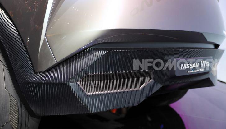 Nissan IMQ: l'auto del futuro 100% elettrica - Foto 13 di 22