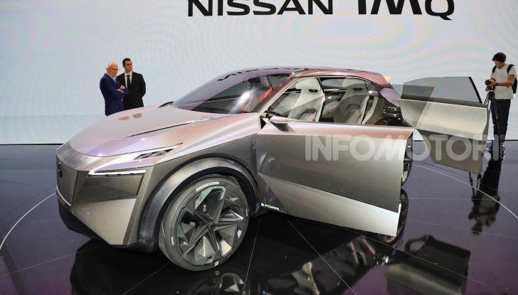 Nissan IMQ: l'auto del futuro 100% elettrica - Foto 15 di 22