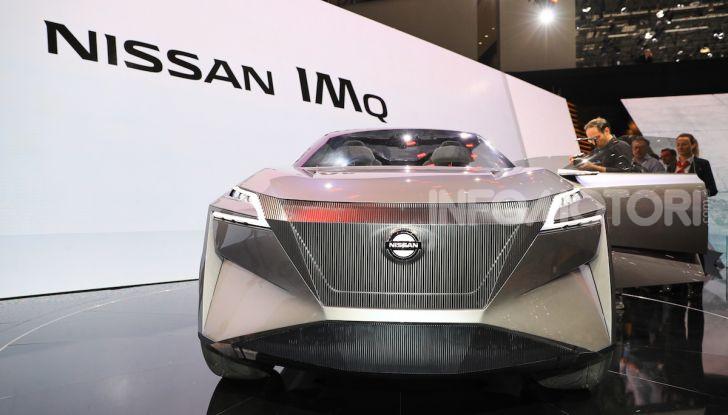 Nissan IMQ: l'auto del futuro 100% elettrica - Foto 16 di 22