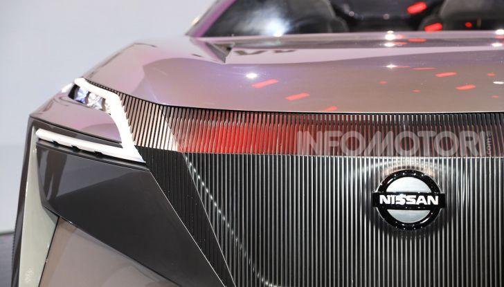 Nissan IMQ: l'auto del futuro 100% elettrica - Foto 18 di 22