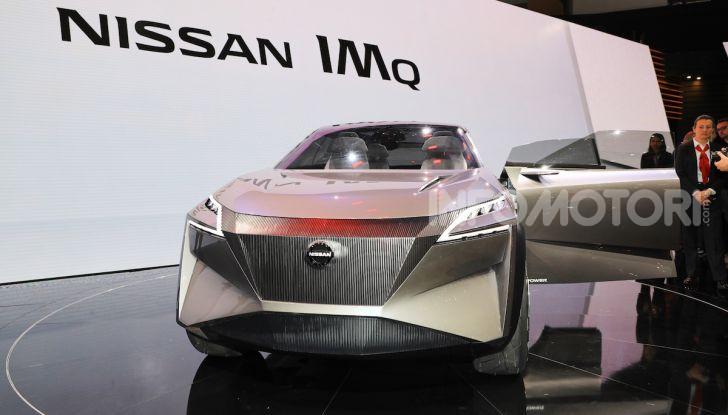 Nissan IMQ: l'auto del futuro 100% elettrica - Foto 19 di 22