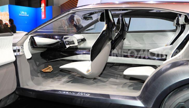 Nissan IMQ: l'auto del futuro 100% elettrica - Foto 3 di 22