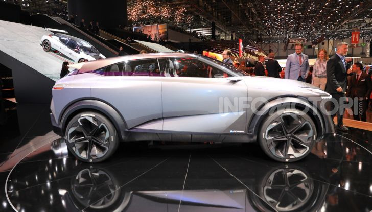 Nissan IMQ: l'auto del futuro 100% elettrica - Foto 20 di 22