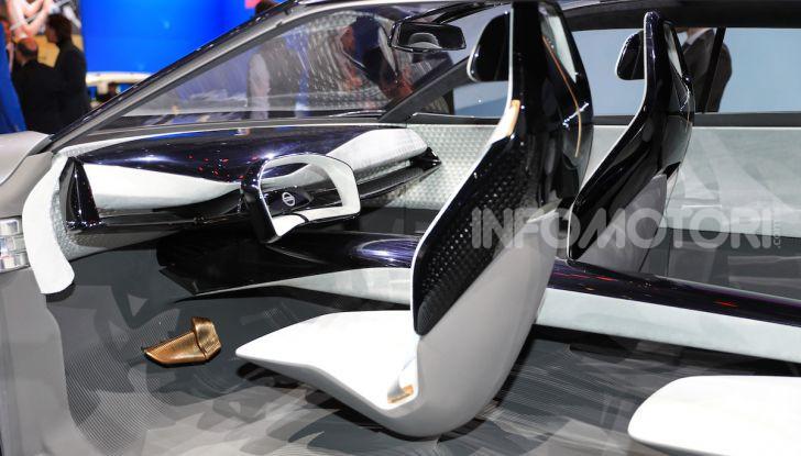 Nissan IMQ: l'auto del futuro 100% elettrica - Foto 4 di 22