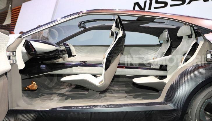 Nissan IMQ: l'auto del futuro 100% elettrica - Foto 5 di 22