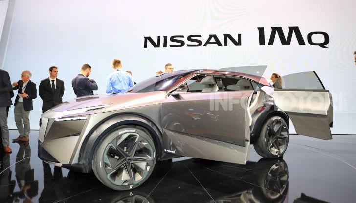 Nissan IMQ: l'auto del futuro 100% elettrica - Foto 6 di 22