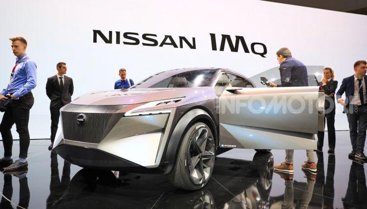 Nissan IMQ: l'auto del futuro 100% elettrica - Foto 7 di 22