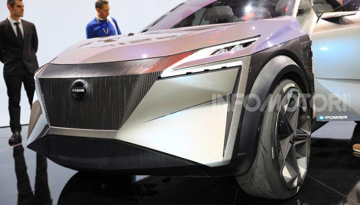 Nissan IMQ: l'auto del futuro 100% elettrica - Foto 8 di 22