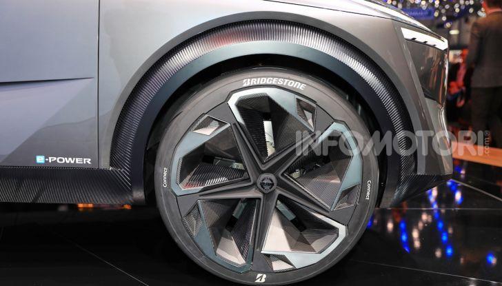 Nissan IMQ: l'auto del futuro 100% elettrica - Foto 10 di 22