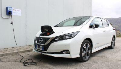 Nissan Italia e Università dell'Aquila fanno squadra per una nuova mobilità elettrica