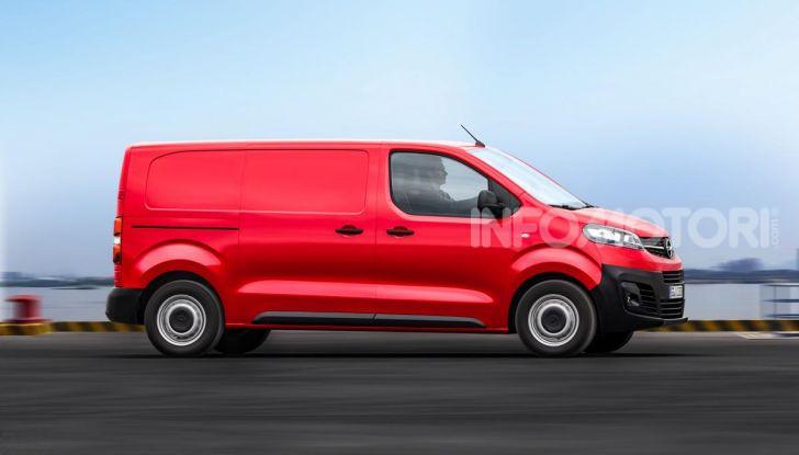 Nuovo Opel Vivaro 2019: modulabile, tre lunghezze e prezzi da 21.620 Euro - Foto 4 di 8