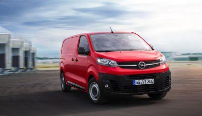 Nuovo Opel Vivaro 2019: prezzi da 21.620 Euro