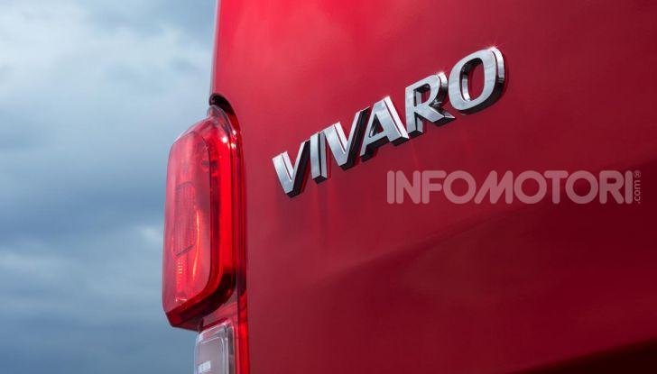 Nuovo Opel Vivaro 2019: modulabile, tre lunghezze e prezzi da 21.620 Euro - Foto 5 di 8
