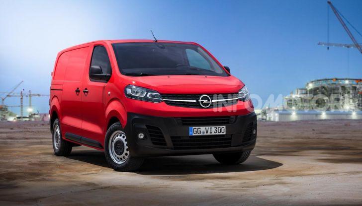 Nuovo Opel Vivaro 2019: modulabile, tre lunghezze e prezzi da 21.620 Euro - Foto 2 di 8