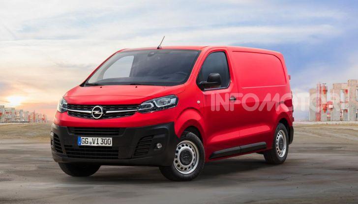 Nuovo Opel Vivaro 2019: modulabile, tre lunghezze e prezzi da 21.620 Euro - Foto 7 di 8