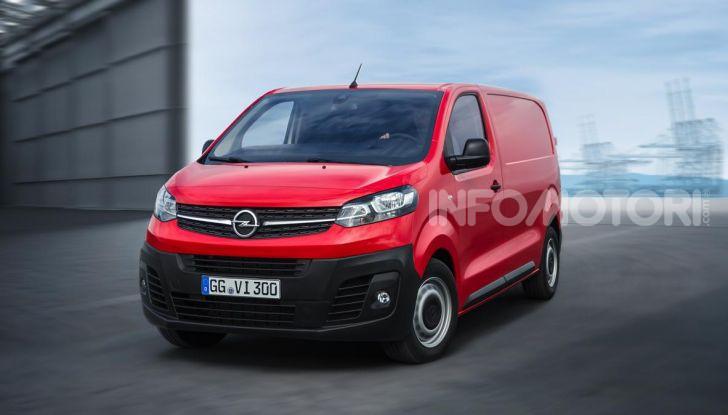 Nuovo Opel Vivaro 2019: modulabile, tre lunghezze e prezzi da 21.620 Euro - Foto 8 di 8