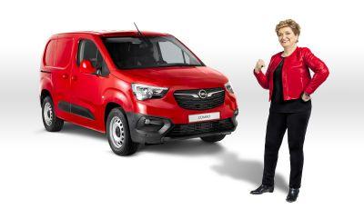 Veicoli Commerciali Opel, Mara Maionchi ambassador della gamma