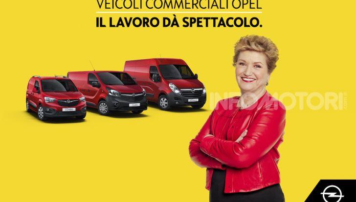 Veicoli Commerciali Opel, Mara Maionchi ambassador della gamma - Foto 10 di 10