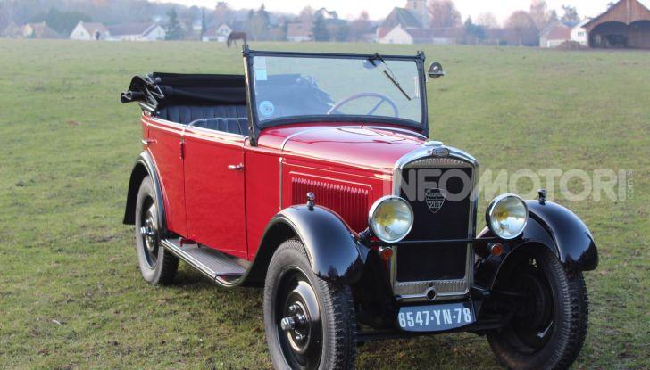 Peugeot ha celebrato sei modelli della sua storia  al salone Rétromobile di Parigi - Foto 1 di 13