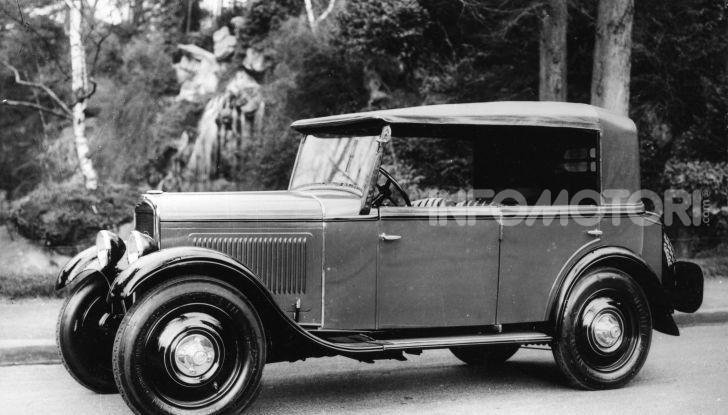 Peugeot ha celebrato sei modelli della sua storia  al salone Rétromobile di Parigi - Foto 2 di 13
