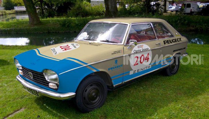 Peugeot ha celebrato sei modelli della sua storia  al salone Rétromobile di Parigi - Foto 3 di 13
