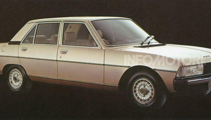 Peugeot ha celebrato sei modelli della sua storia  al salone Rétromobile di Parigi - Foto 8 di 13