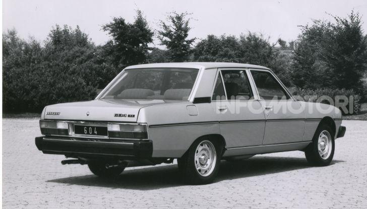 Peugeot ha celebrato sei modelli della sua storia  al salone Rétromobile di Parigi - Foto 10 di 13